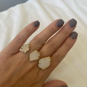 Kendra Scott Naomi Double Gold Ring